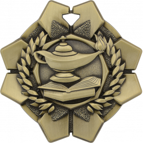 Imperial Medal - Lamp of Knowledge